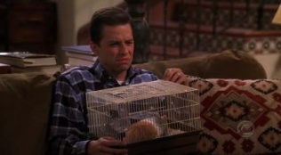 Two and a Half Men 01x03 : Go East on Sunset Until You Reach the Gates of Hell- Seriesaddict